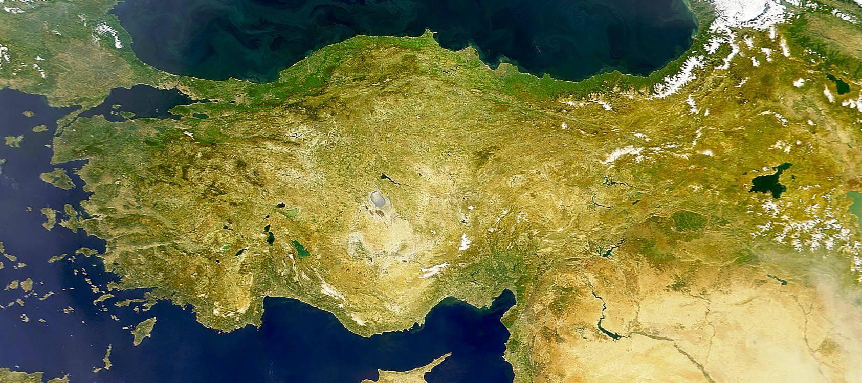 turkiye-ruzgar-haritasi Türkiye'de Rüzgarlar Bilgiler