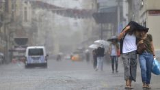 İstanbul'da Kuvvetli Yağmur!
