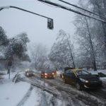 Şili'de kar yağdı, 1 kişi hayatını kaybetti!