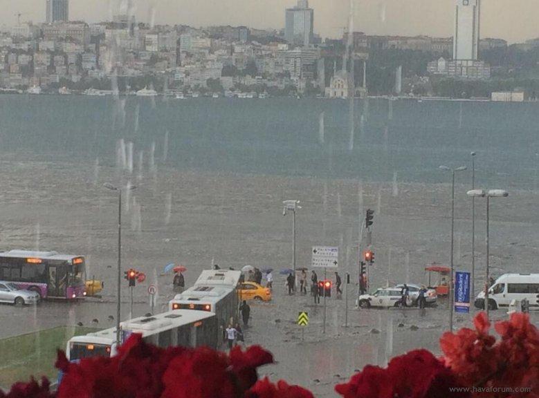 DFASRMAW0AAz_kl İstanbul'da Tarihi Yağış! 18.07.2017 Sel Haberler