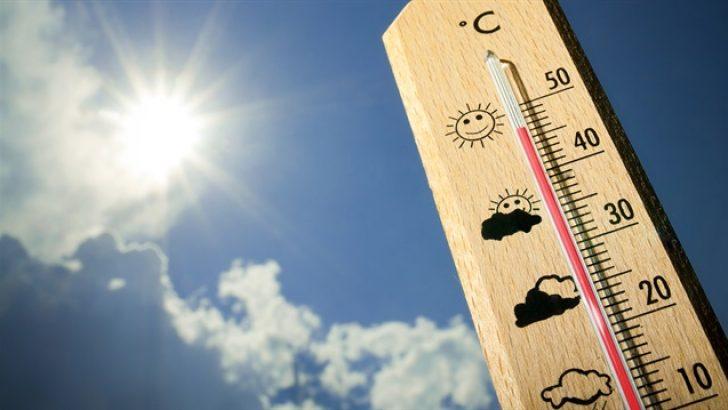Yurdun Doğusunda Sıcaklık Rekoru!
