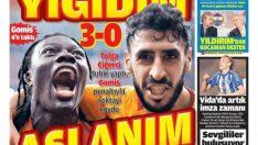 Galatasaray gazete manşetleri – 26 Ağustos
