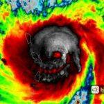Maria Kasırgası Kurukafa Şekline Döndü!