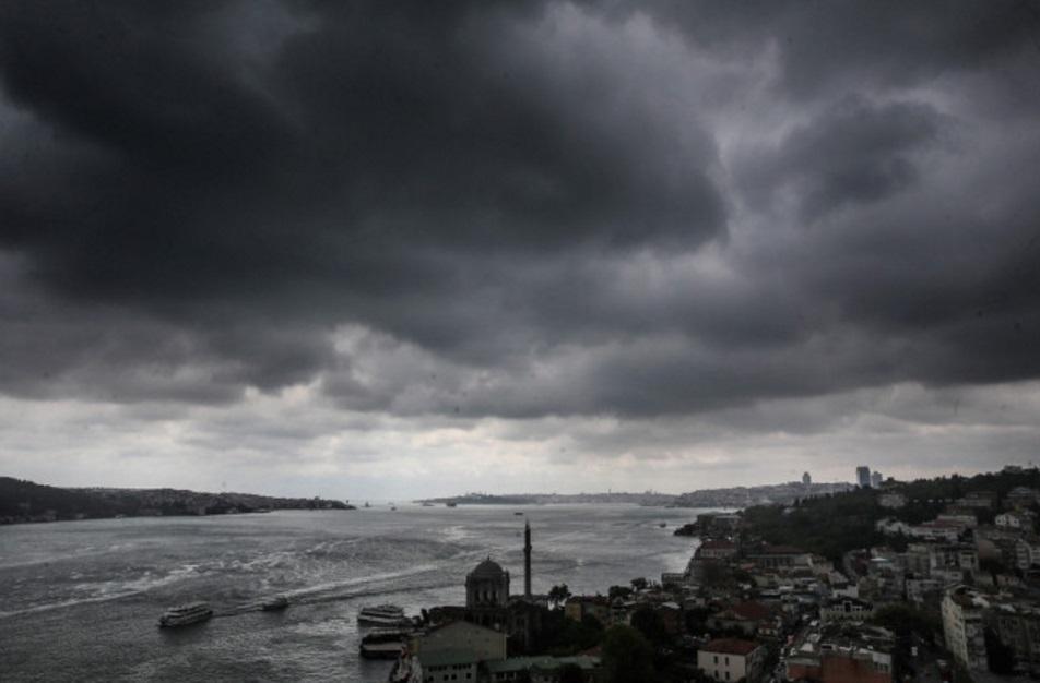 mihrican-firtinasi İstanbullular Dikkat! Yağmur, Fırtına, Dolu... Haberler