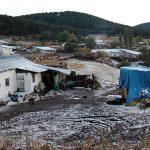 Ardahan'da kar yağışı ve dolu etkili oldu!