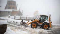 Bosna Hersek'e ilk kar yağdı