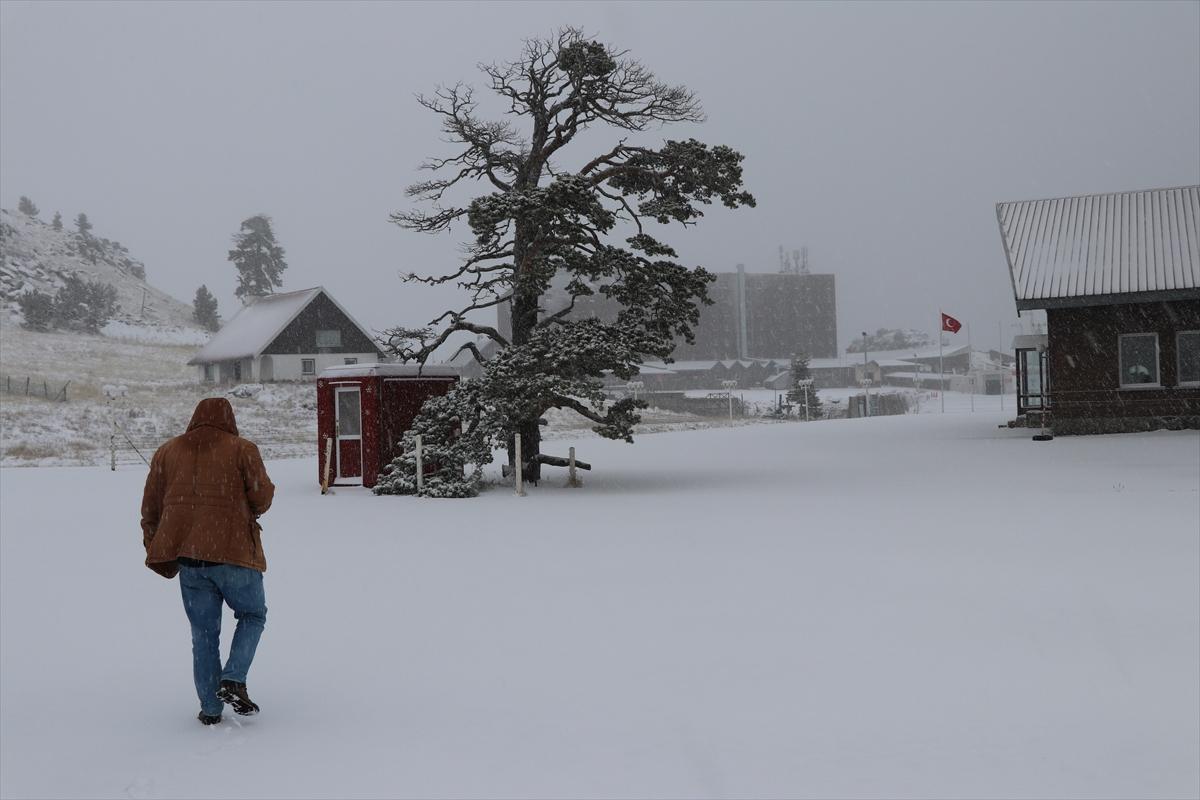 kartalkaya-kar-yagisi-hava-durumu Kartalkaya'da sezonun ilk karı yağdı! Haberler