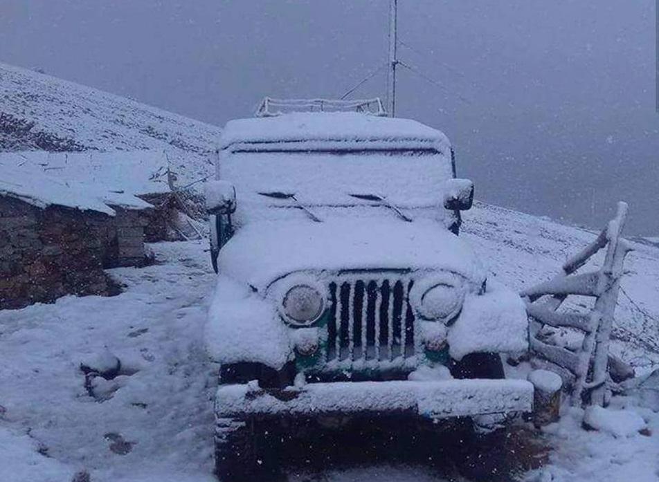 rize-kar-yagisi-1 4 kentin yüksek kesimleri karla tanıştı... Haberler
