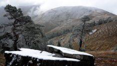 Zigana'da mevsimin ilk karı yağdı…