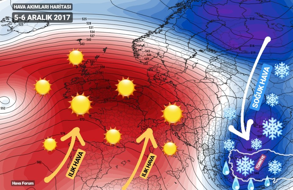 5-6-aralik-soguk-hava Sıcaklıklar 15-16 Derece Düşecek! Haberler