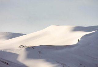 Sahra Çölü beyaza büründü…