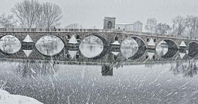 edirne-kar-yagisi Son 40 Yılın En Kuvvetli Soğuk Hava Dalgası! Haberler