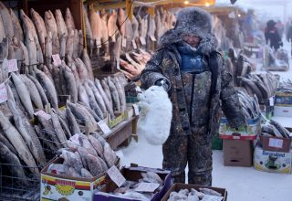 Dünyanın en soğuk şehri Yakutsk'da hayat…