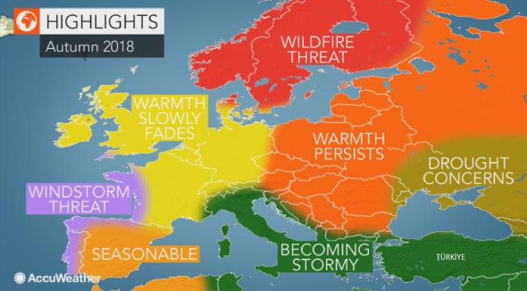 sonbahar-mevsim-tahmini 2018 Sonbahar Nasıl Geçecek? Haberler