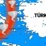 ESTOFEX'ten Kırbaç Kasırgası İçin Rota Tahmini…