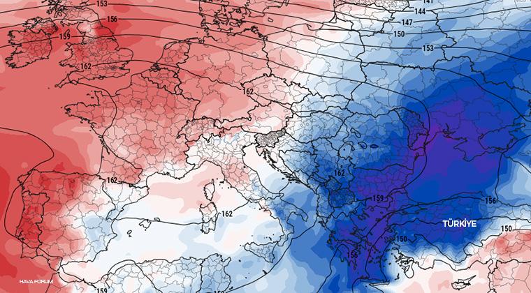 Mevsimin ilk kutup kökenli soğuk hava dalgası geliyor!