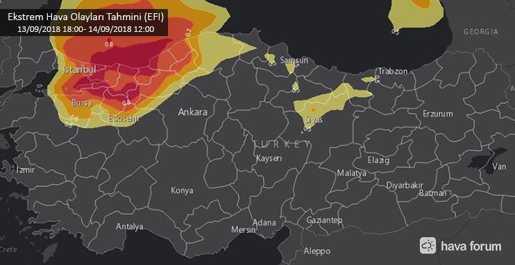 ekstrem-hava-tahmini UYARI: -55 Derecelik Bulut Geçişi ve Kuvvetli Meteorolojik Hadiseler Bekleniyor! Haberler
