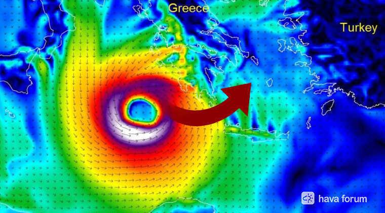 İnanılmaz ama gerçek! Kırbaç Kasırgası Ege ve Marmara'yı Vurabilir!