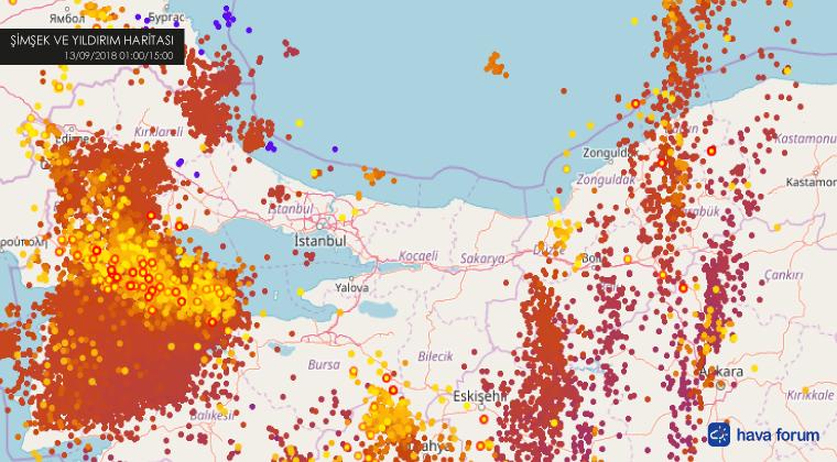 son-simsek-yildirim-haritası İstanbul'da 35 Bin Şimşek ve Yıldırım Bekleniyor! Haberler