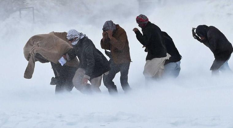 Tarihi 2008 Afganistan Kar Fırtınası