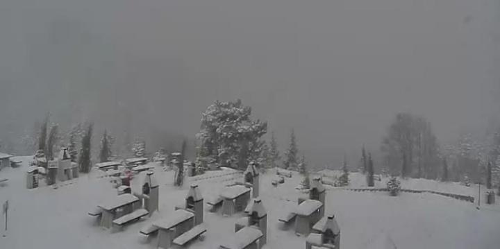 Uludağ'a sezonun ilk karı düştü!