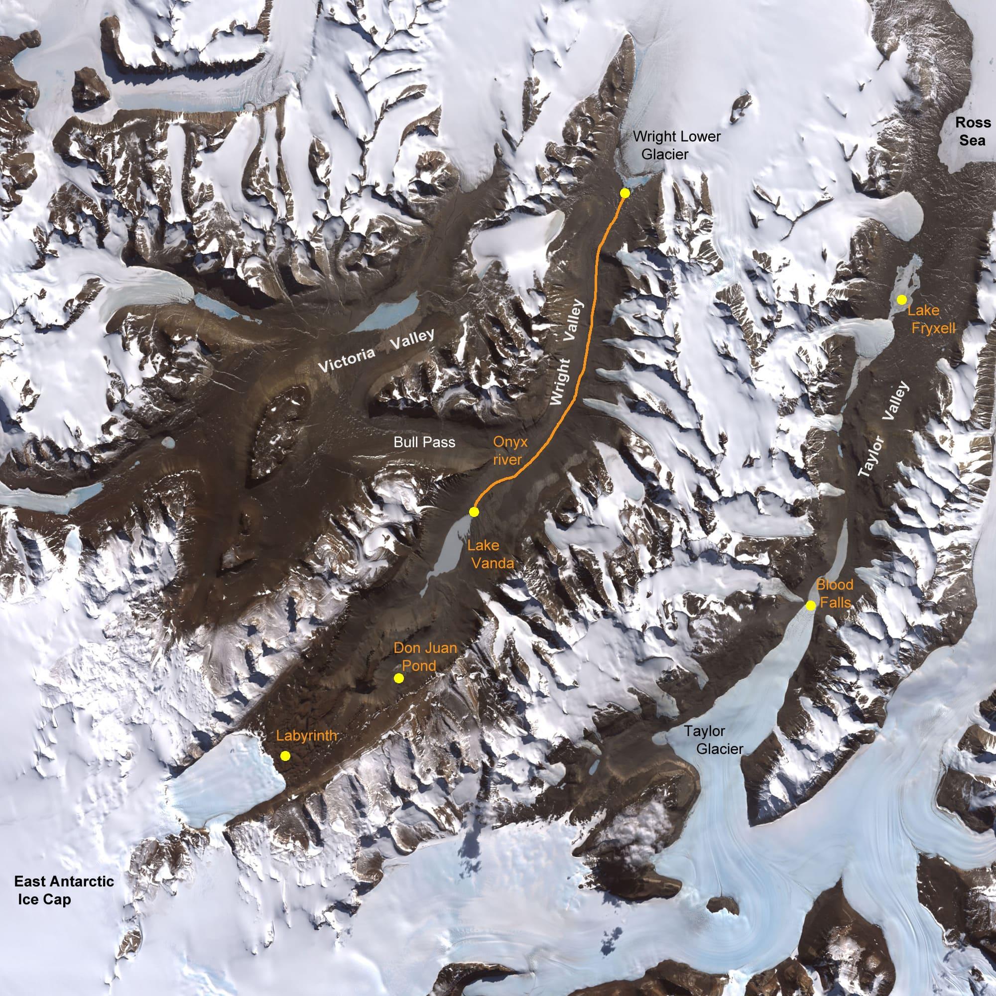 dunyanin-en-az-yagis-alan-yeri-kuru-vadi Dünyanın en kurak yeri: 2 milyon yıldır yağış yok! Bilgiler