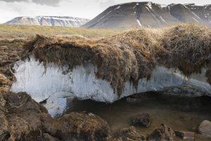 permafrost-eriyor-300x200 Küresel Isınma Kutuplardaki Sera Gazı Depolarını Ortaya Çıkarıyor Haberler