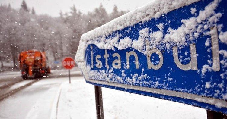 İstanbul'da Kar Bekleniyor…
