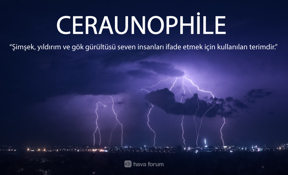 Ceraunophile-nedir Şimşek, Yıldırım ve Gök Gürültüsü Seven İnsana Ne Denir? Bilgiler