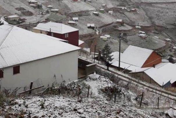 Rize Yaylalarına İlk Kar Düştü!