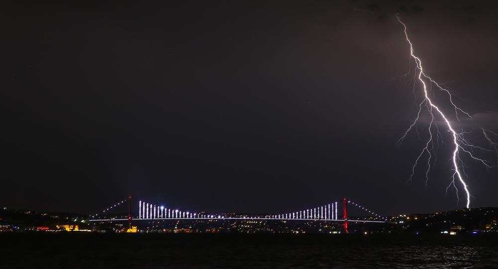 istanbul-simsek-yildirim Orta Akdeniz Siklonu İle 1 Saatte 8 Bin Şimşek! Haberler