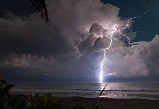 Orta Akdeniz Siklonu İle 1 Saatte 8 Bin Şimşek!