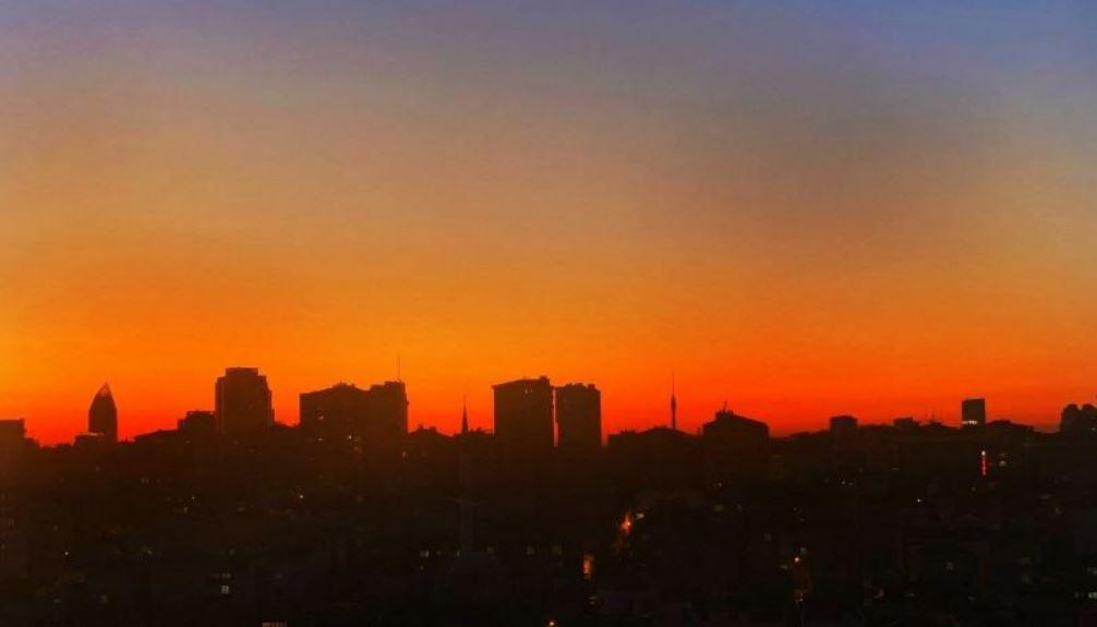 İstanbul'da Günbatımı Manzaraları…