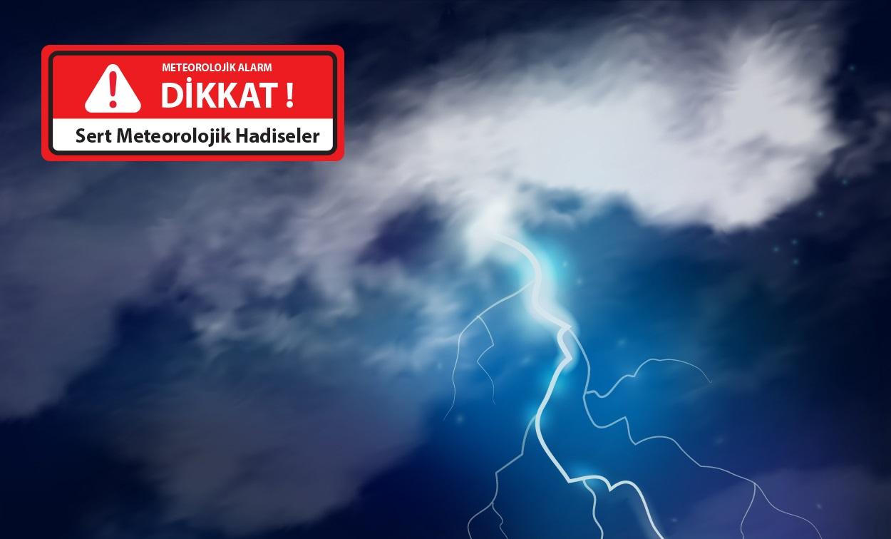 Marmara Bölgesi'nde Meteorolojik Hareketlilik…