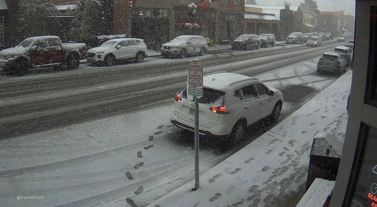 ABD'de 3 Saatte 33 Derecelik Sıcaklık Düşüşü Gerçekleşti, Kar Başladı!