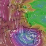 """Ege ve Akdeniz'de Tropikal Fırtına """"Tulpar"""" İhtimali!"""