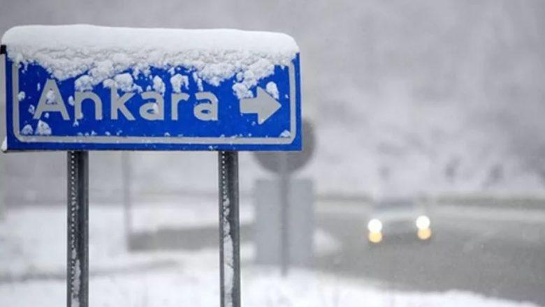 Ankara ve İç Anadolu 6 Günlük Kara Hazır !