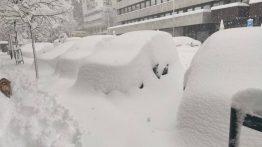 Madrid'te 69 Yılın En Kuvvetli Kar Yağışı…