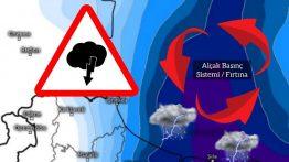 Salı Günü Konvektif Fırtına ve Yağışa Dikkat !