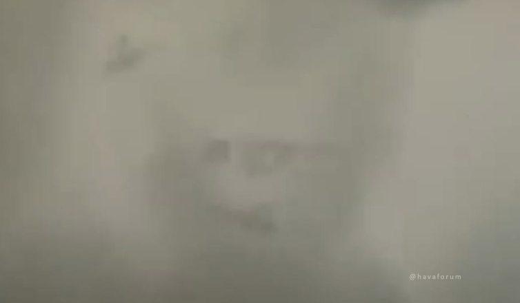 """İstanbul'da """"Voldemort"""" Bulutu Görüldü !"""